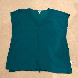 Old Navy Women's Teal Swimsuit Coverup